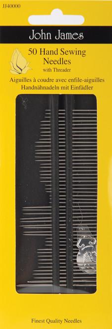 John James Hand Needle Set-Assorted 50/Pkg -JJ40000 - 783932300072