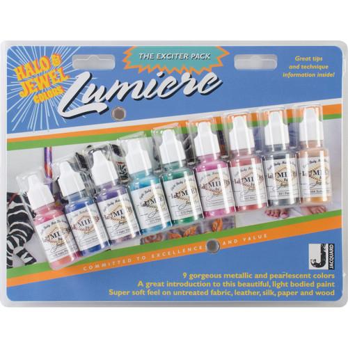 Jacquard Lumiere Exciter Pack .5oz 9/Pkg-JAC9901 - 743772990109