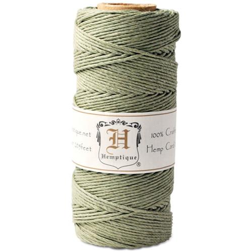 Hemptique Hemp Cord Spool 20lb 205'-Dusty Olive -HS20-DO - 091037333780