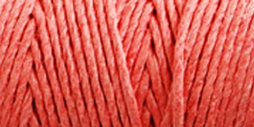 Hemptique Hemp Cord Spool 20lb 205'-Sunset Coral -HS20-SC