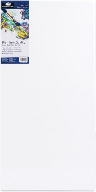 """essentials(TM) Premium Stretched Canvas-6""""X12"""" -CNV612 - 090672077684"""