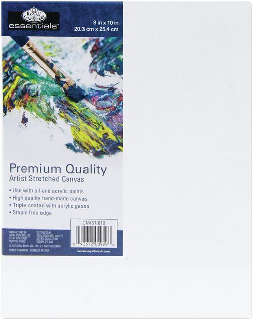 """essentials(TM) Premium Stretched Canvas-8""""X10"""" -CNV810 - 090672009296"""