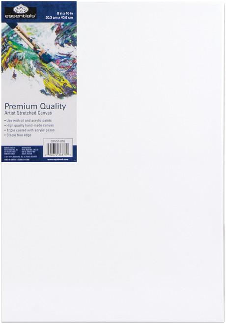 """essentials(TM) Premium Stretched Canvas-8""""X16"""" -CNV816 - 090672368751"""
