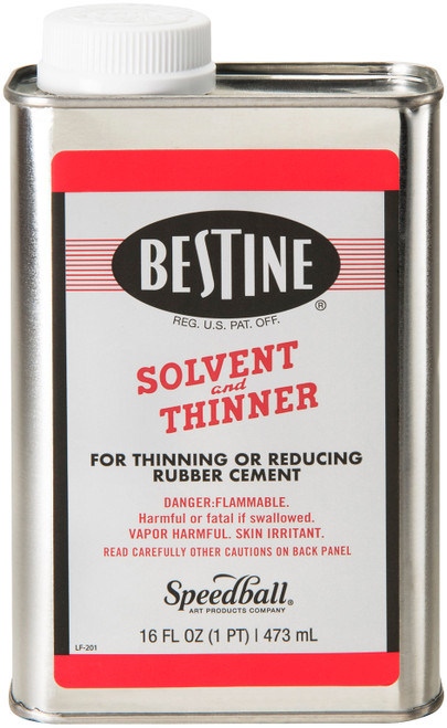 Bestine Solvent And Thinner-1 Pint -R201 - 089665002017
