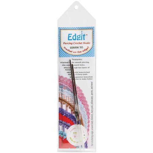 Ammees Babies Edgit Piercing Crochet Hooks-EDIT10 - 800922617108