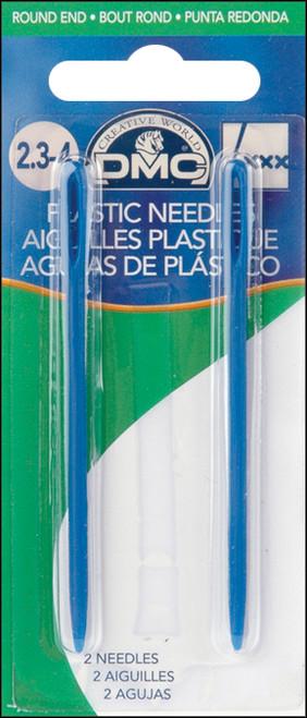 "DMC Plastic Hand Needles-2.75"" 2/Pkg -1763 - 077540382804"