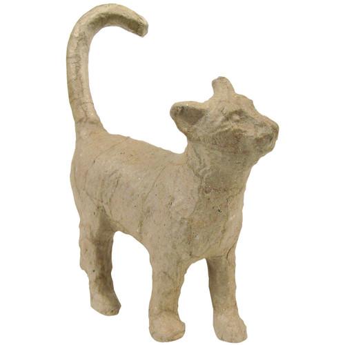 """Paper-Mache Figurine 4.5""""-Cat -AP-583 - 3760018725834"""