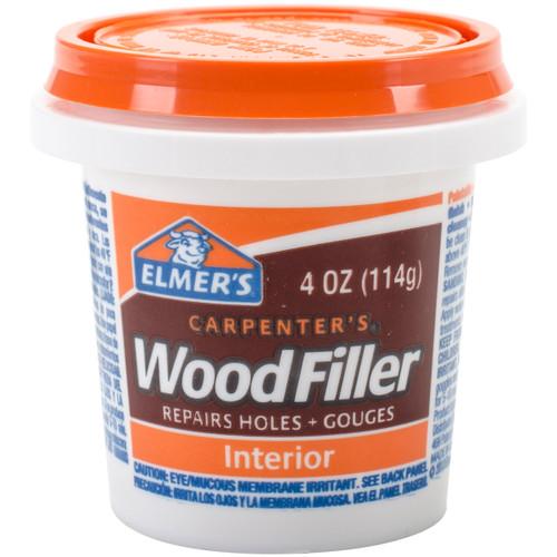 Elmer's Carpenter's (R) Wood Filler-4oz -E847D12 - 026000008471