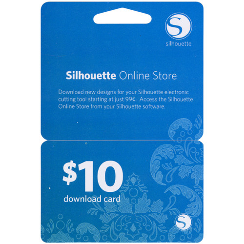 Silhouette $10 Download Card-10DNLD - 814792011645