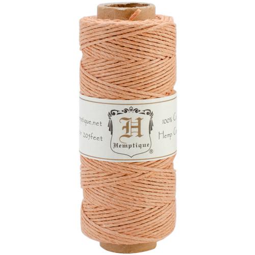 Hemptique Hemp Cord Spool 20lb 205'-Cappuccino -HS20-CC - 091037333322
