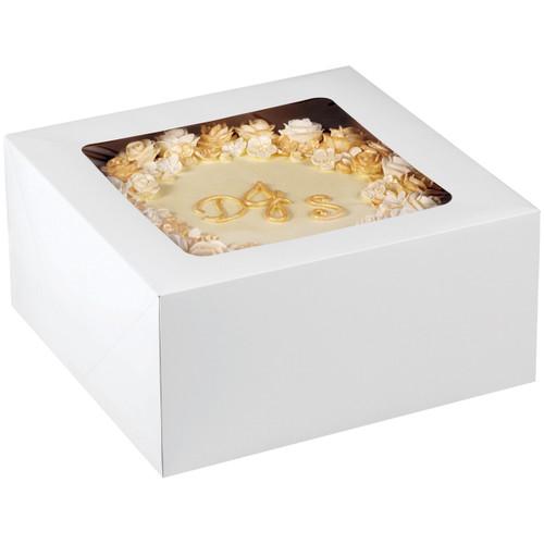 "Corrugated Cake Boxes-2/Pkg 12""X12""X6"" -415-0967 - 070896109675"