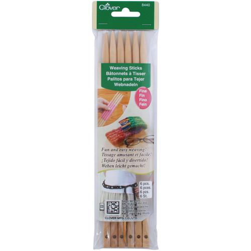 Clover Weaving Sticks-Fine -8440 - 051221784408