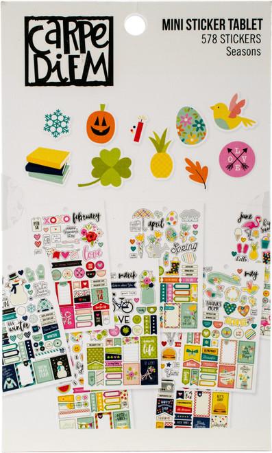 Planner Essentials Mini Stickers-Seasons, 578 Stickers -PE7983 - 816502024884