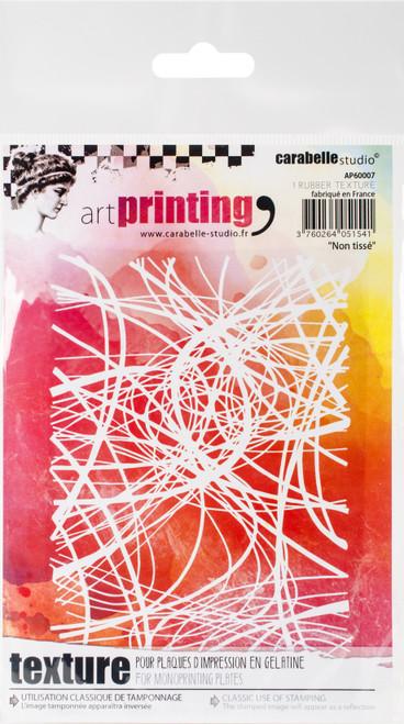Carabelle Studio Art Printing A6 Rubber Texture Plate-Nonwoven -AP60007 - 3760264051541