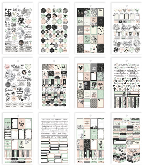 Carpe Diem Beautiful Mini Stickers-BEA7945