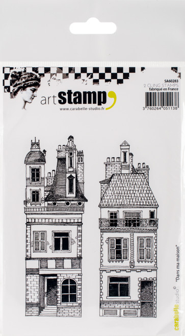 Carabelle Studio Cling Stamp A6-In My House -SA60283 - 3760264051138