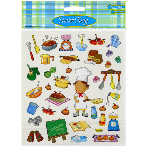 Sticker King Stickers-Cooking -SK129MC-495 - 679924949513