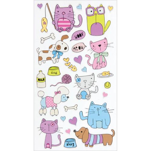 Sticko Stickers-Cats & Dogs -E5200037