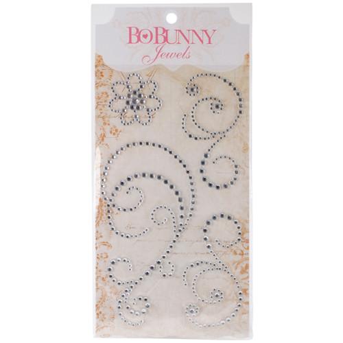 BoBunny Adhesive Jewel Swirls-Glaze -10207765 - 665573047656