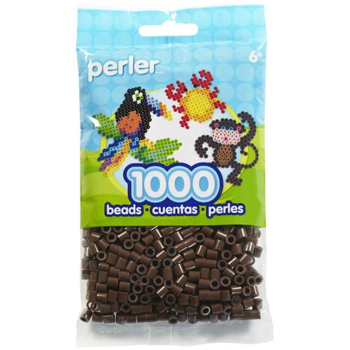 Perler Beads 1,000/Pkg-Brown -PBB80-19-19012 - 048533190126