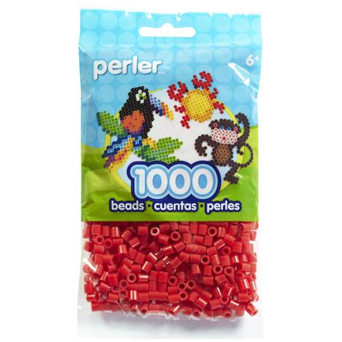 Perler Beads 1,000/Pkg-Red -PBB80-19-19005 - 048533190058