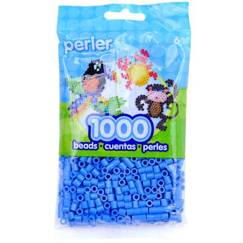 Perler Beads 1,000/Pkg-Light Blue -PBB80-19-19009 - 048533190096