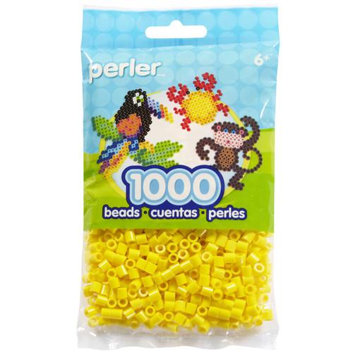 Perler Beads 1,000/Pkg-Yellow -PBB80-19-19003 - 048533190034