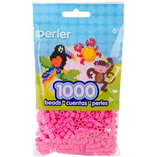 Perler Beads 1,000/Pkg-Pink -PBB80-19-19083 - 048533190836