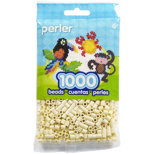 Perler Beads 1,000/Pkg-Creme -PBB80-19-19002 - 048533190027