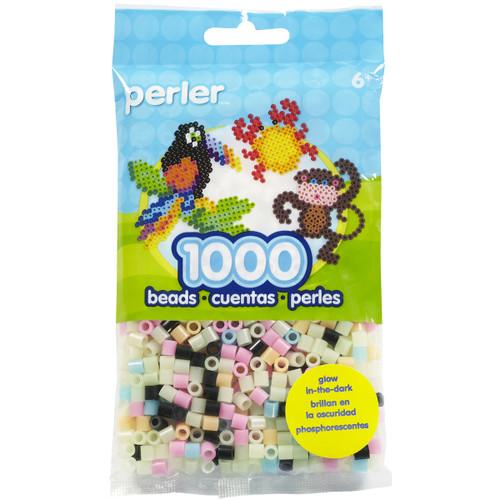 Perler Beads 1,000/Pkg-Glow Mix -PBB80-19-19067 - 048533190676