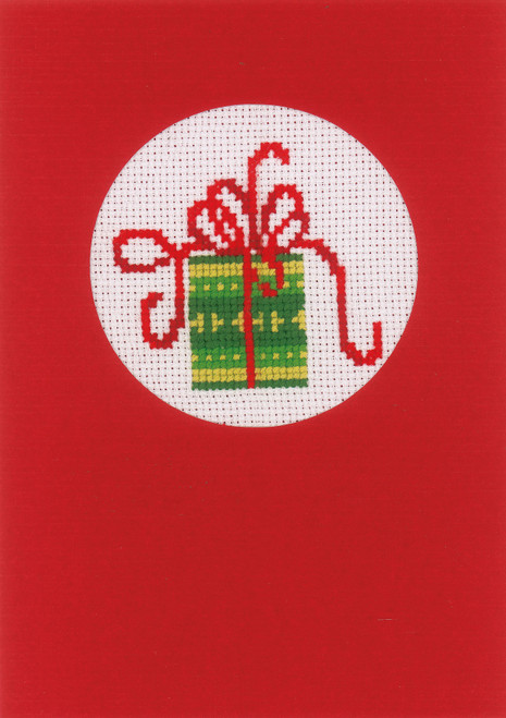 """Vervaco Counted Cross Stitch Greeting Card Kit 4.2""""X6"""" 3/Pk-Christmas on Aida (18 Count) -V0145622 - 5400946010944"""