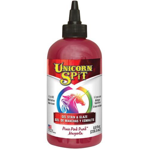 Unicorn Spit Wood Stain & Glaze 8oz-Pixie Punk Pink -5771-001 - 076818004332