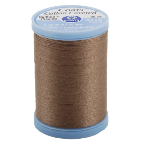 Coats Cotton Covered Quilting & Piecing Thread 250yd-Driftwood -S925-8630 - 073650806551