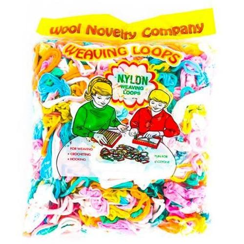 Wool Novelty Nylon Loops 10oz Bag-Assorted -709 - 011169709109