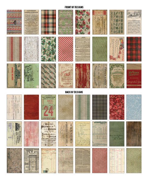 """Idea-Ology Backdrops Double-Sided Cardstock 6""""X10"""" 24/Pkg-Christmas -TH94181 - 040861941814"""