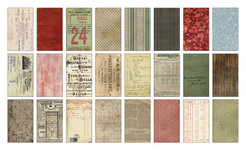"""Idea-Ology Backdrops Double-Sided Cardstock 6""""X10"""" 24/Pkg-Christmas -TH94181"""