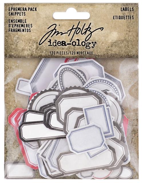 Idea-Ology Ephemera Snippets 120/Pkg-Labels -TH94188