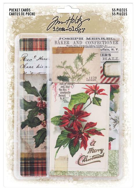 Idea-Ology Pocket Cards 55/Pkg-Christmas -TH94190