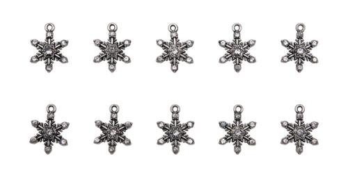 Idea-Ology Metal Adornments 10/Pkg-Snowflakes -TH94200 - 040861942002