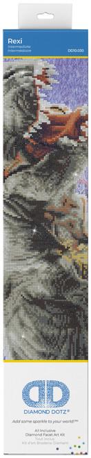"""Diamond Dotz Diamond Art Kit 20.5""""X15""""-Rexi -DD10030 - 4897073246048"""