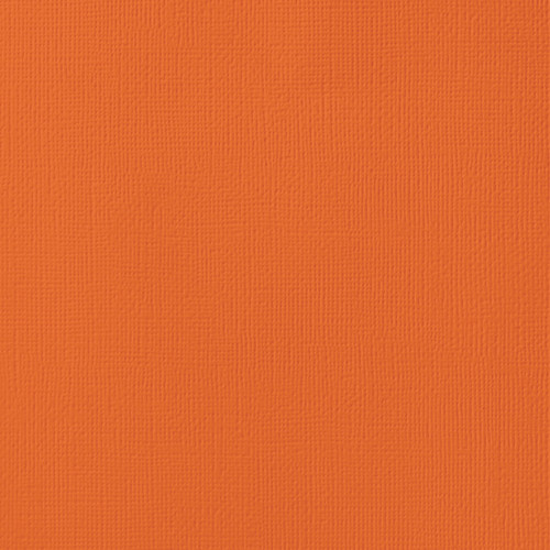 """25 Pack American Crafts Textured Cardstock 12""""X12""""-Poppy -AM710-501 - 718813715010"""