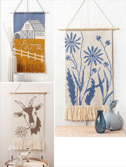 Annie's Books-Decorative Crochet Wall Hangings -AA-71821