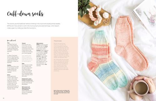 David & Charles Books-The Sock Knitting Bible -DC-08523