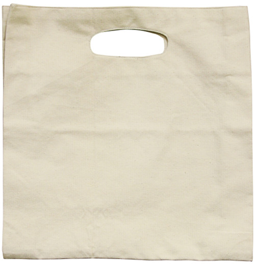 """3 Pack Wear'm Hand Held Tote 13.5""""x13.5'x2""""-Natural -MR286 - 842672049297"""