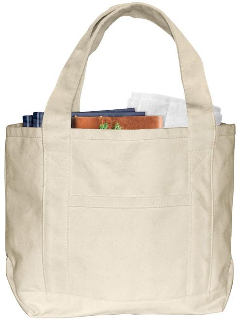 """2 Pack Wear'm Boat Bag 15""""x10""""x6""""-Natural -MR228"""