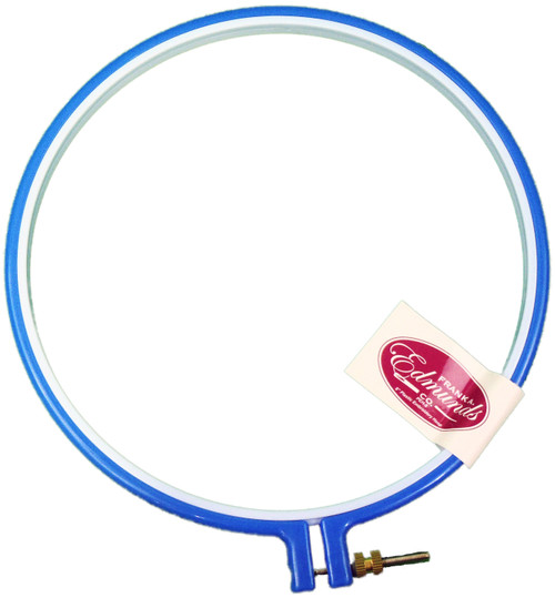 """Frank A. Edmunds Plastic Embroidery Hoop 8""""-Blue -PEH-8 - 715627119188"""
