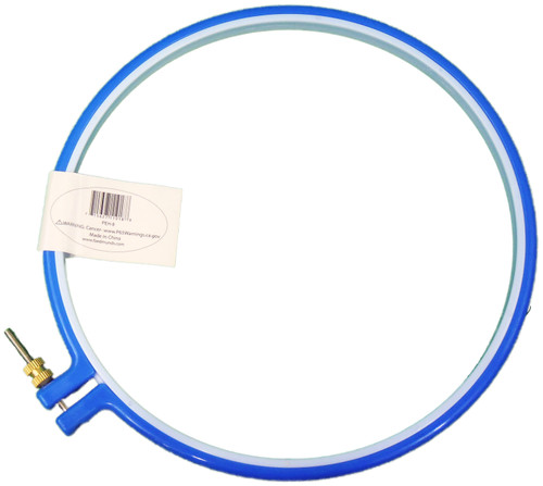 """Frank A. Edmunds Plastic Embroidery Hoop 8""""-Blue -PEH-8"""
