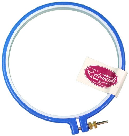 """5 Pack Frank A. Edmunds Plastic Embroidery Hoop 6""""-Blue -PEH-6 - 715627119164"""
