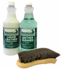 Auto Leather Cleaner & Conditioner Brush Kit
