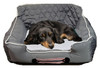 PetBed2Go Pet Bed Cushion Grey
